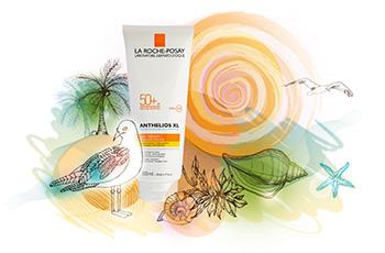 Солнцезащитное молочко Anthelios XL SPF 50+, La Roche-Posay, подходит даже для очень чувствительной кожи