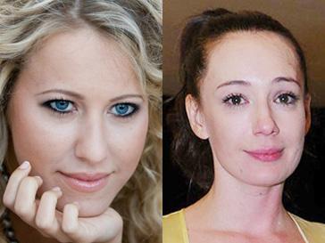 Ксения Собчак и Чулпан Хаматова