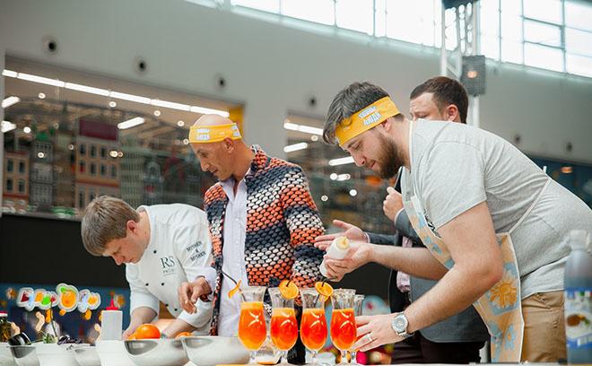 Омск, кулинарный поединок, Взвешенные люди, СТС