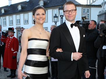 Кронпринцесса Швеции Виктория и ее избранник Даниэль Вестлинг
