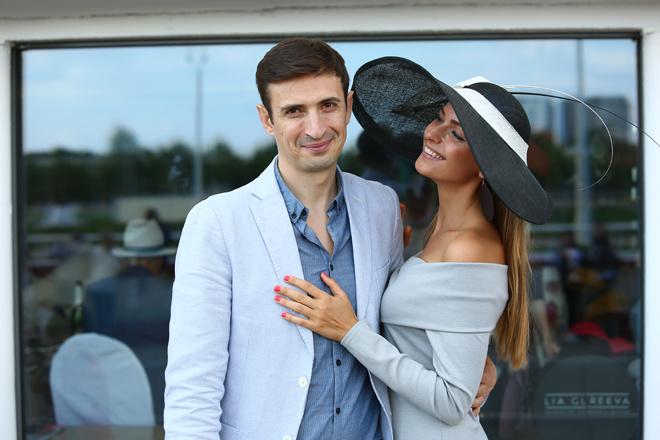 Алексей Лемар с женой Мариной Лемар фото