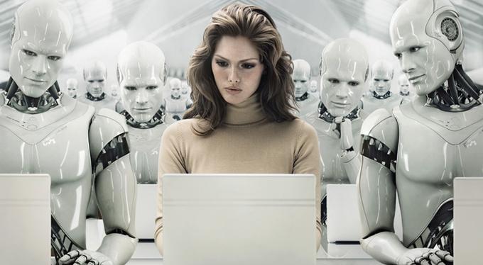 Вкалывают роботы, а не человек?..
