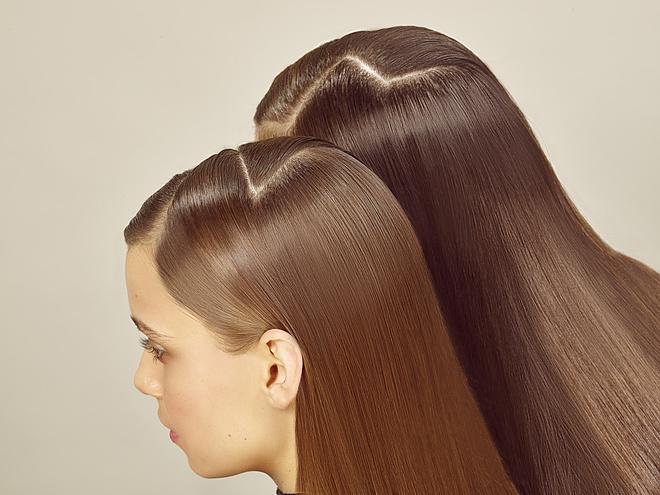 волосы цвета мокко
