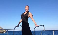 Анастасия Волочкова освоилась в Греции