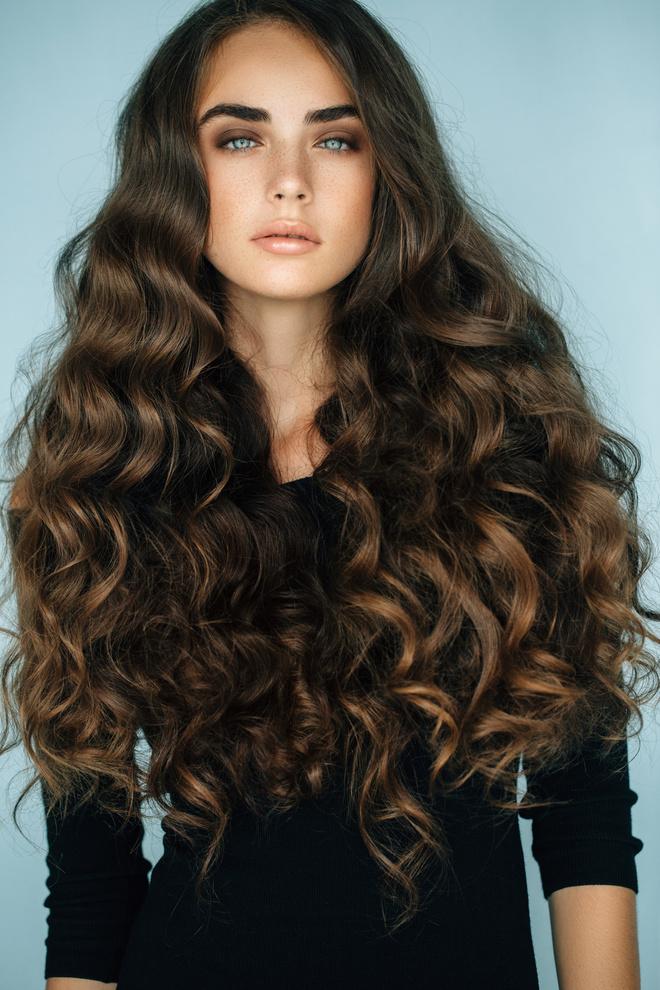 Мелкая химия на длинные волосы