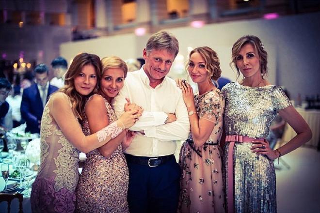 Свадьба Татьяны Навки и Дмитрия Пескова фото