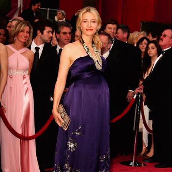 Кейт Бланшетт, мать троих детей – один из символов «беременного шика»