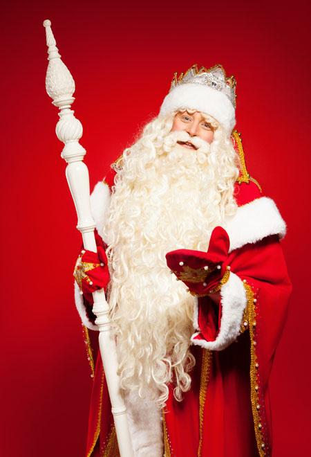 Дед Мороз из Великого Устюга фото