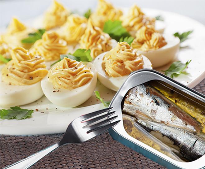 рецепты, начинка для яиц