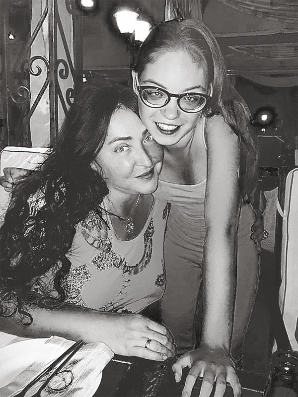 лолита милявская фото с дочерью