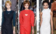 Стильные 60-е: показ Ulyana Sergeenko Couture в Париже