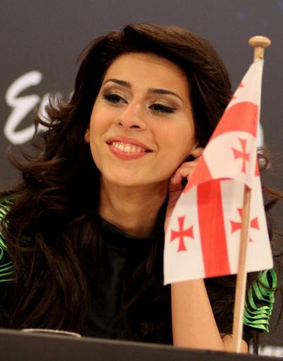"""Среди финалистов """"Евровидения-2011"""" оказалась и грузинская певица."""