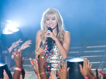 Майли Сайрус (Miley Cyrus) расстаривает своего отца