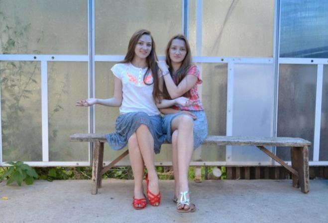 Дарья и Елизавета Шестухины, близнецы Тулы