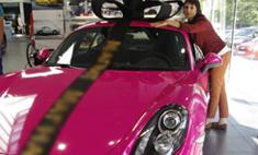 Жительница Белорецка выиграла розовый «порше», купив одно эскимо!