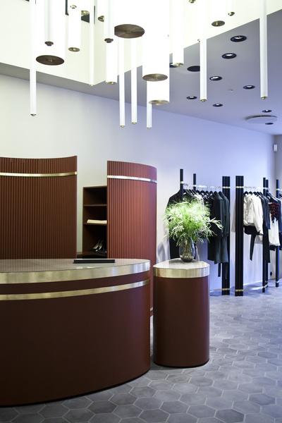 Дизайнеры Dimore Studio оформили бутик By Malene Birger   галерея [1] фото [6]