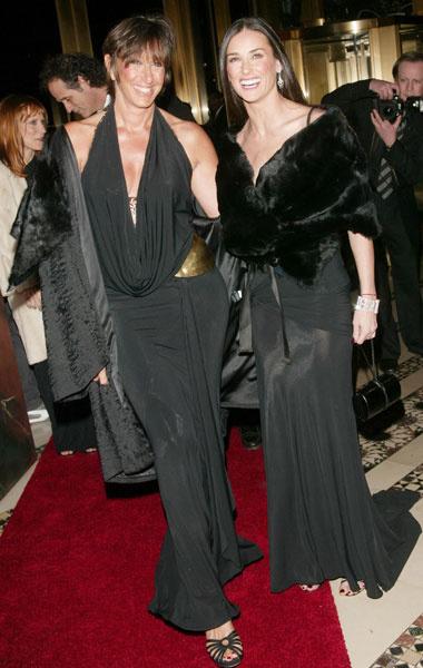 Донна Каран и Деми Мур, 2003 год