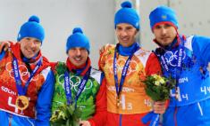 Биатлонисты вывели Россию в лидеры Олимпиады