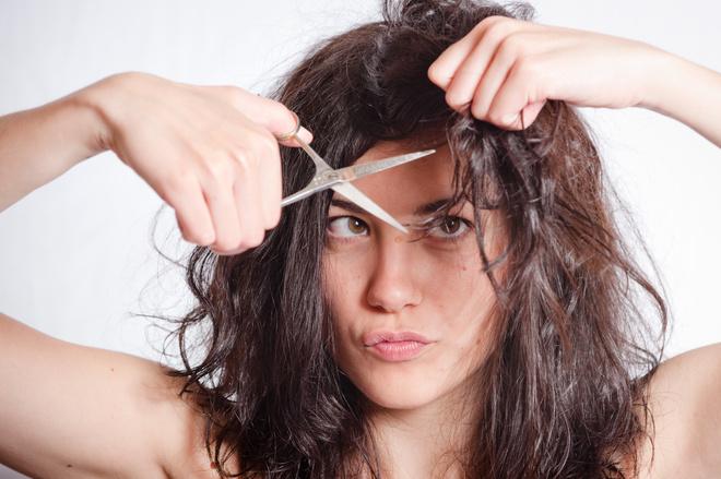 Сонник волосы резать