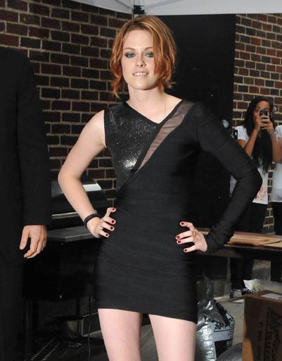Кристен Стюарт (Kristen Stewart) на шоу Дэвида Леттермана, 2010 год