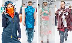 Бумажные платья и наряды из резиночек показали на «Губерском стиле-2016»