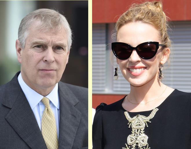 Кайли Миноуг тайно встречается спредставителем королевской знати принцом Эндрю