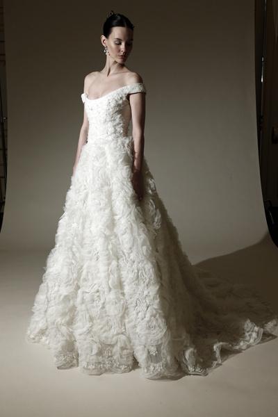 60Marchesa пышных свадебных платьев 2015 | галерея [1] фото [26]