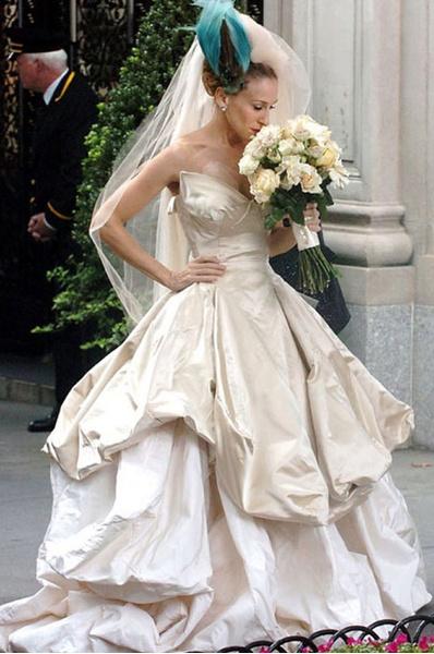 Свадебное платье Кэрри Бредшоу