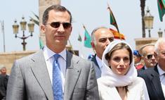 Король и королева Испании посетили Марокко