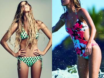 Коллекция купальников DVF loves Roxy весна-лето 2013