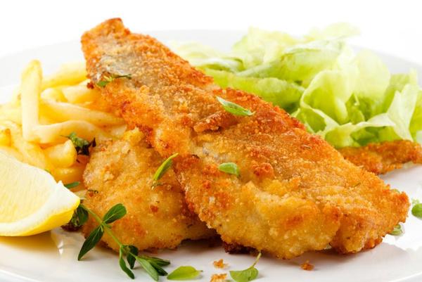 Рецепт жареной рыбы