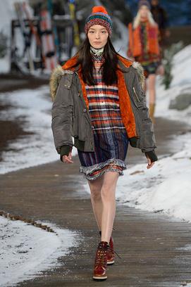 Tommy Hilfiger осень-зима 2014