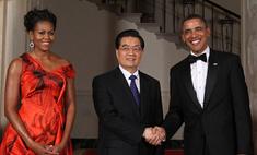 Барбара Стрейзанд и Джеки Чан встретились с китайским президентом