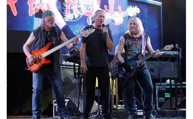 Концерт Deep Purple в Ростове-на-Дону 2016
