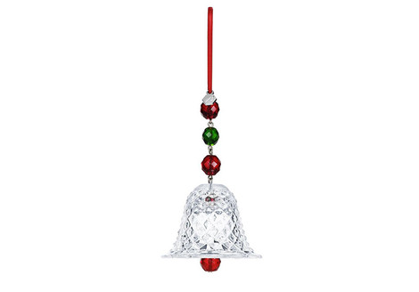 Елочное украшение Crystal Bell, Baccarat, бутики Baccarat