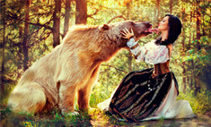 Уникальные фотосессии: в обнимку с диким зверем и полное перевоплощение