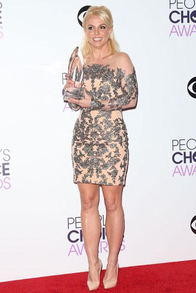 Бритни Спирс на People's Choice Awards 2014