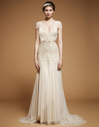 Свадебное платье Jenny Peckham, коллекция весна-лето 2012