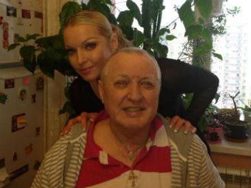 Анастасия Волочкова с папой