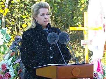 Светлана Медведева, Качиньский, авиакатастрофа под Смоленском