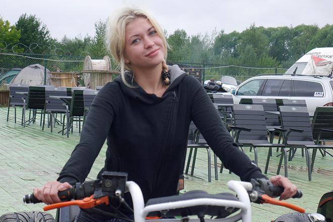 """Александра, байк-фестиваль """"Черные ножи"""", фото"""