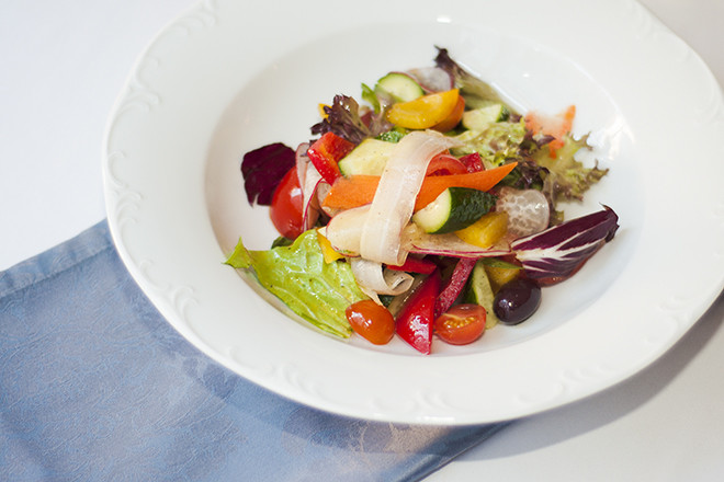 Овощной итальянский салат рецепт
