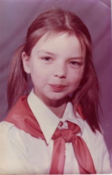 Алиса Гребенщикова в детстве