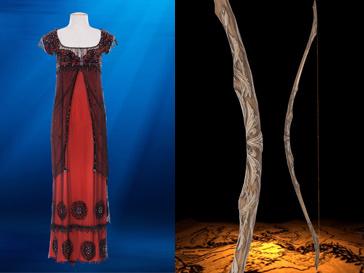 """Аукционное платье Роуз """"jump dress"""" и лук Леголаса Lothlorien bow"""