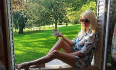Яна Рудковская худеет на экстремальной диете