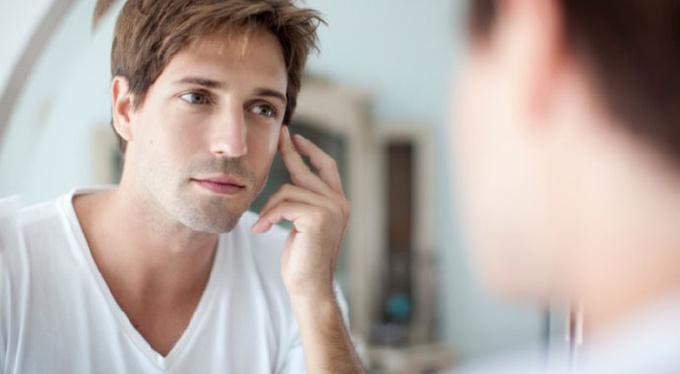 Сила холода против раздражения после бритья