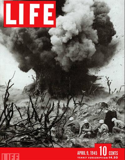 Обложка LIFE 1945 года