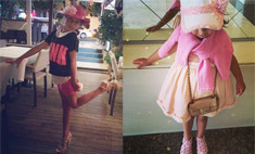 Волочкова подарила дочке стрип-туфли, а Боня – Chanel