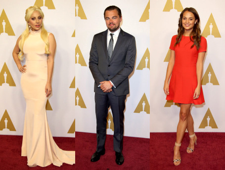 «Оскар 2016»: ужин номинантов кинопремии