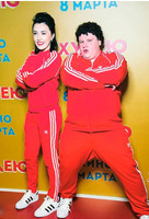 Евгений Кулик на премьере фильма «Я худею»